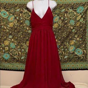 Windsor Large Stunning Red Maxi Dress